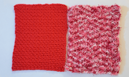 Crochet Dishcloths in 2 Ways